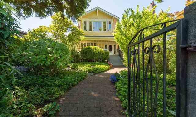 1st Avenue Kitsilano Vancouver luxury home