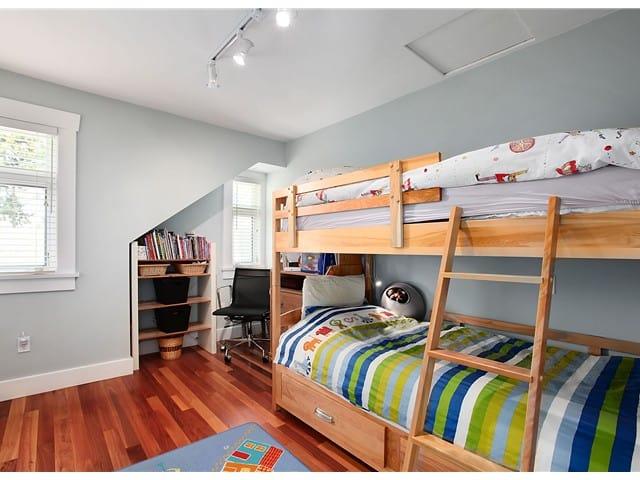 Kitsilano triplex bunk bed room Vancouver