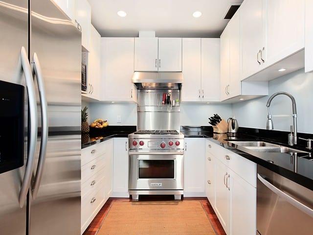 kitchen in triplex kits Vancouver